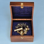 4-Inch RMS Titanic Sextant in Hardwood Case