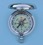 Dalvey Modern Explorer Pocket Compass Bezel Inside