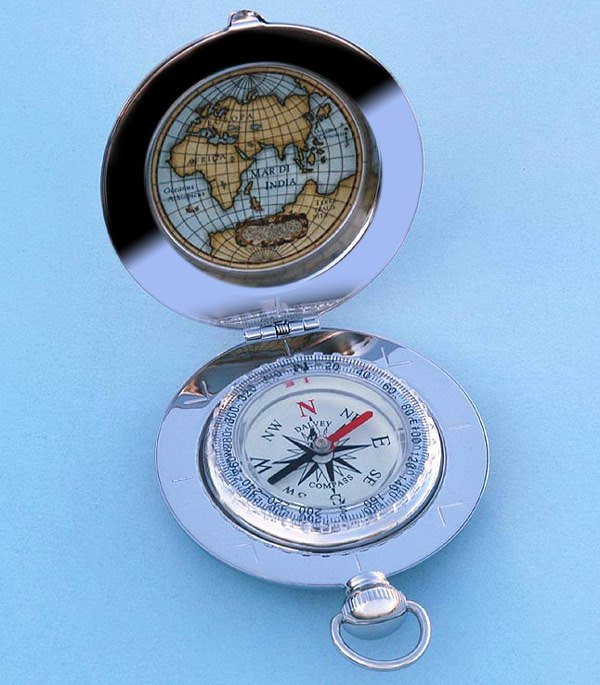 Dalvey Voyager Liquid Damped Pocket Compass