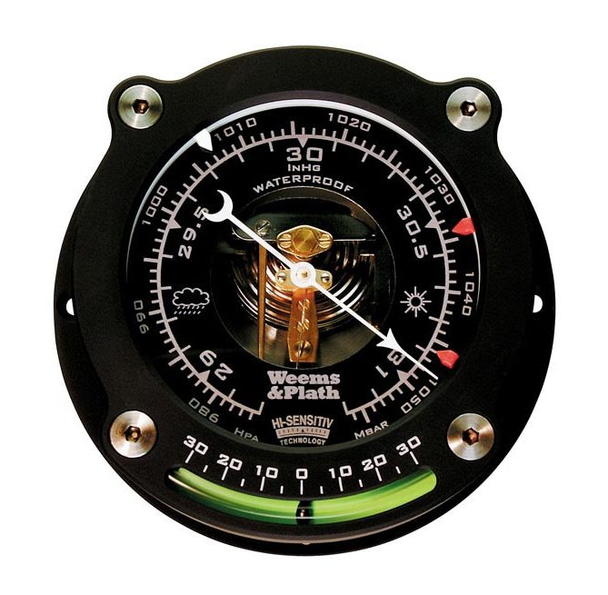 Weems and Plath Nautilus™<br>High Sensitivity Barometer with Inclinometer 163015