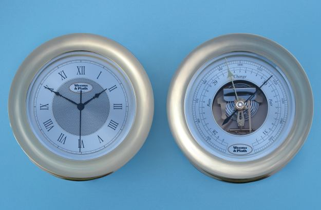Weems & Plath Anniversary Collection <br> Ship's Clock & Barometer