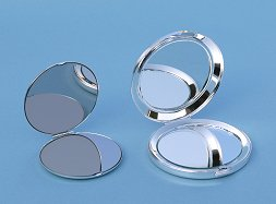 Ultra Thin and Nickel Plated Large Compact Mirrors