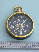 Compass with inch Scale