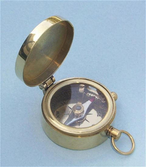 Miniature Pocket Compass