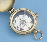 Compass with Lid Open