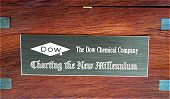 Example of Dow Chemical Company Plaque