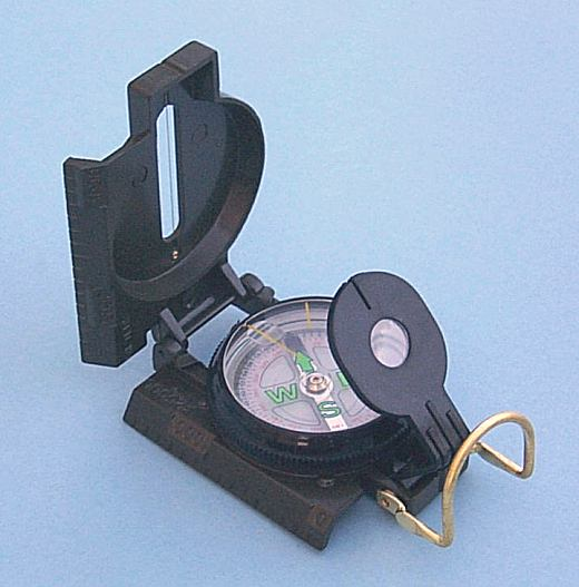Military Lensatic Marching Compass